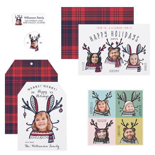 Animal Face Christmas Collection