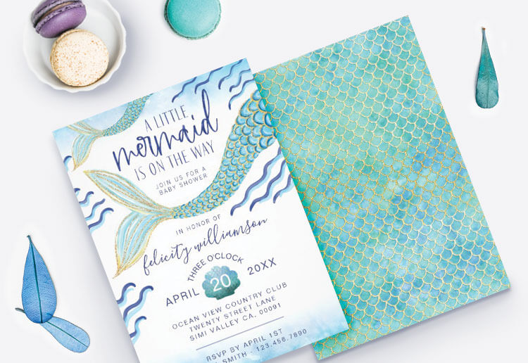 Baby Shower Invitations By Moodthology