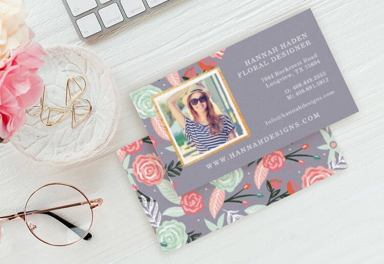 Personalized Business Cards By Moodthology Papery
