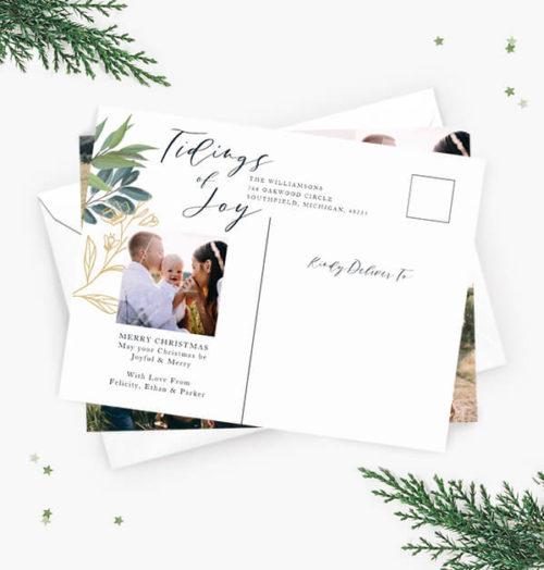 Christmas Holiday Postcards