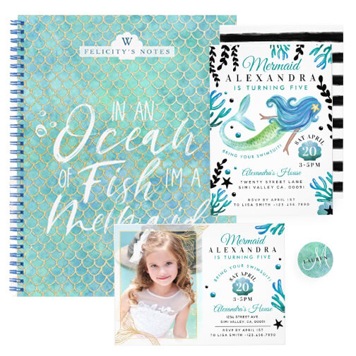 Under the Sea Mermaid Theme