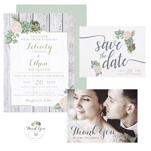 Simply Sage Wedding Design Collection