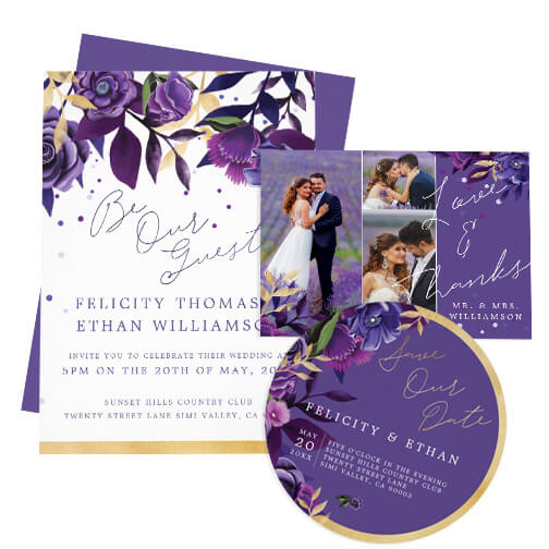 Ultra Violet Wedding Design Collection