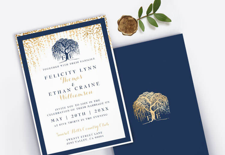 Shop Wedding Event Invitations By Moodthology Papery