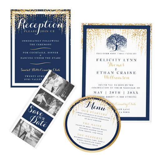 Whispering Willow Tree Wedding Design Collection