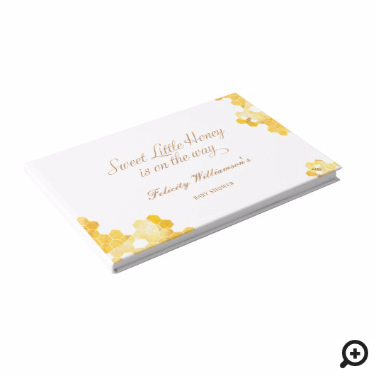 Sweet Little Honey On The Way | Bee Baby Shower Invitation