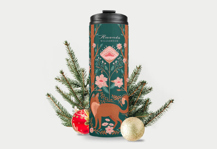 Christmas Gift Guide -Shop Unique Personalized Tumbles By Moodthology Papery