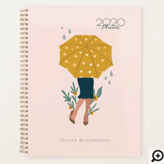 Under Her Umbrella Summer Showers & Floral Planner