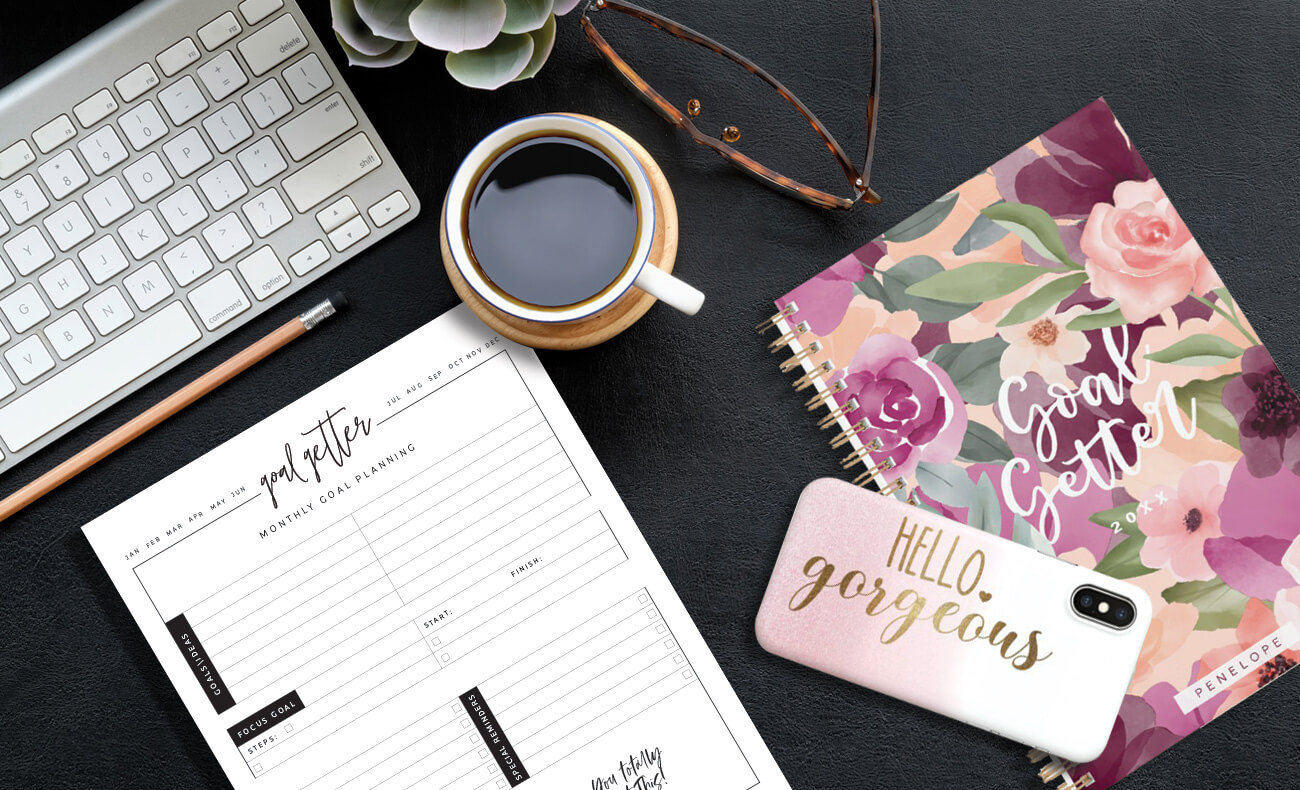 Goal Getter Essentials To Kick Start Your New Year Moodthology Papery Blog