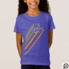 It's Game On Colorful Neon Laser Tag Team Uniform T-Shirt