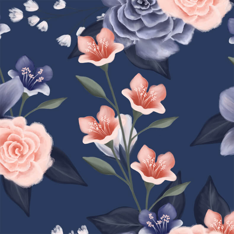 Dusty Rose Floral Wedding Collection By Moodthology Papery
