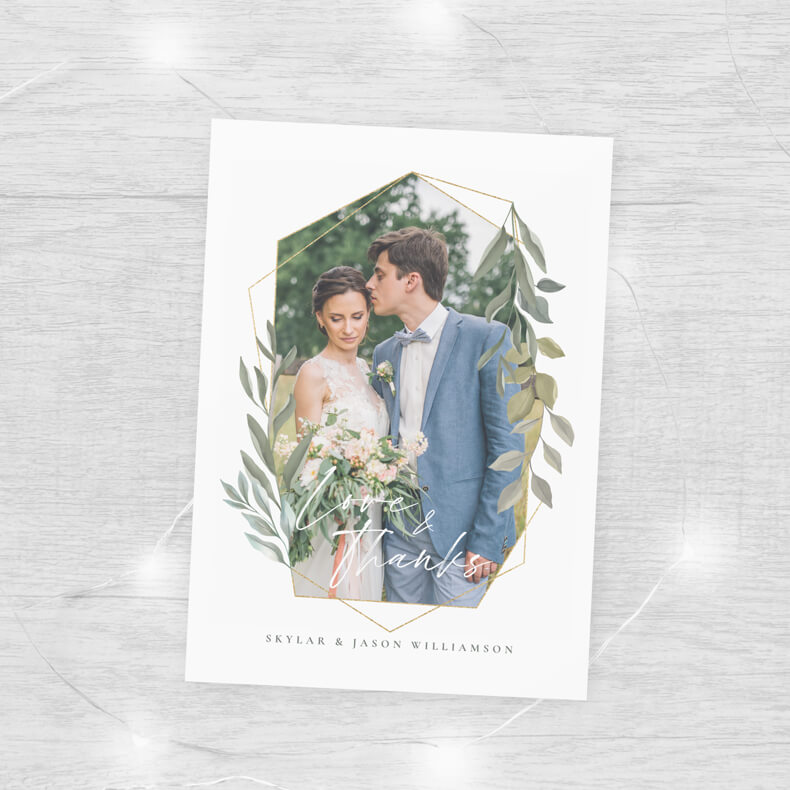 Greenery And Gold Terrarium Wedding Collection By Moodthology Papery
