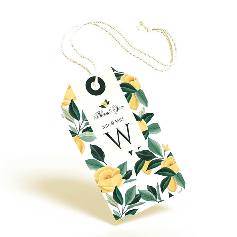 Lemon Chiffon Wedding Collection By Moodthology Papery