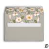 Pink Gardenia Watercolor Will You Be My Bridesmaid Envelope