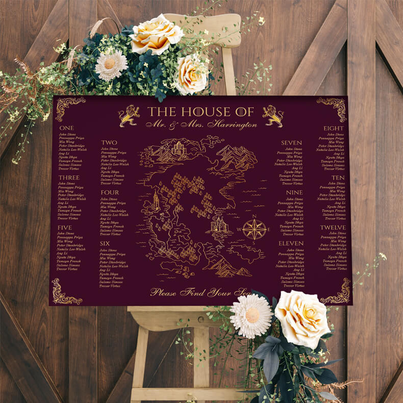 Royal Muse Medieval Wedding Collection By Moodthology Papery
