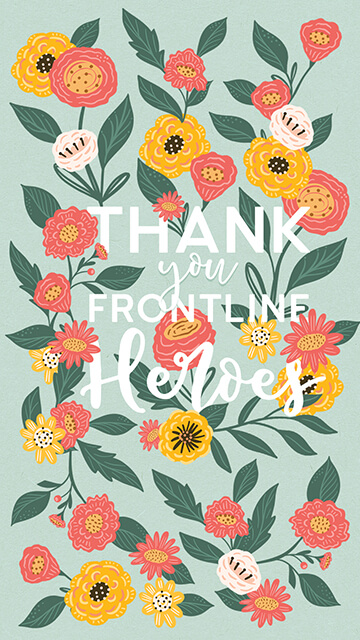 Thank You Frontline Heroes