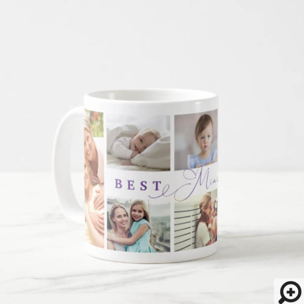 Gift For Best Mini Ever Family Photo Collage Coffee Mug