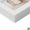 Happy Mothers Day Mom Modern Multi Photo Grid Faux Canvas Print