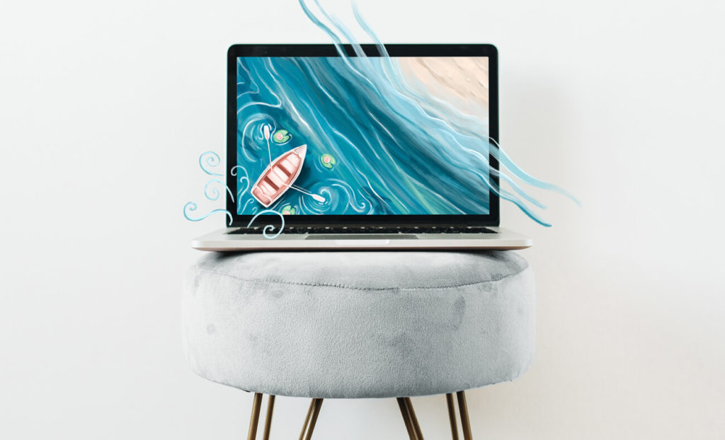 August Free Desktop Wallpaper