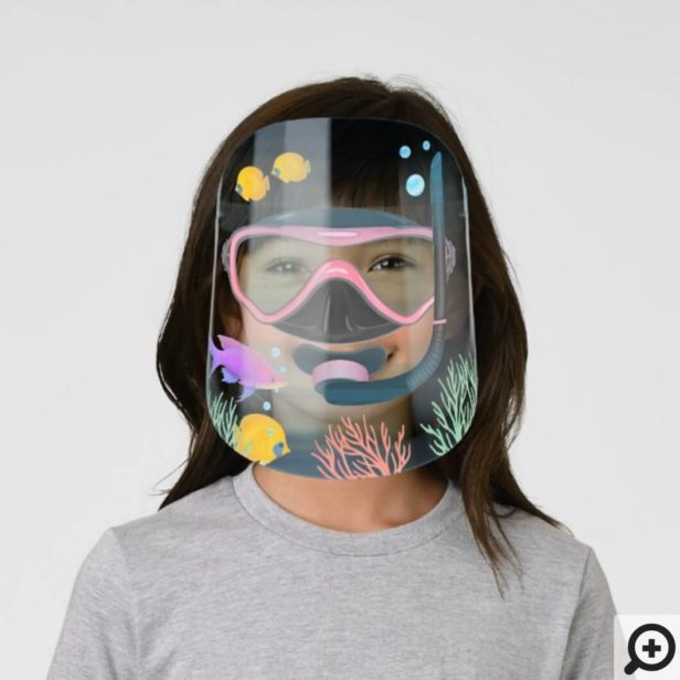 Under The Sea Scuba Snorkelling Goggle Aquarium Kids' Face Shield