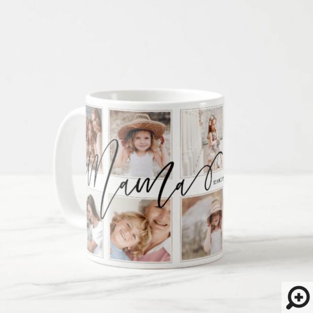 Gift for Mama | Grandchildren Photo Collage Coffee Mug