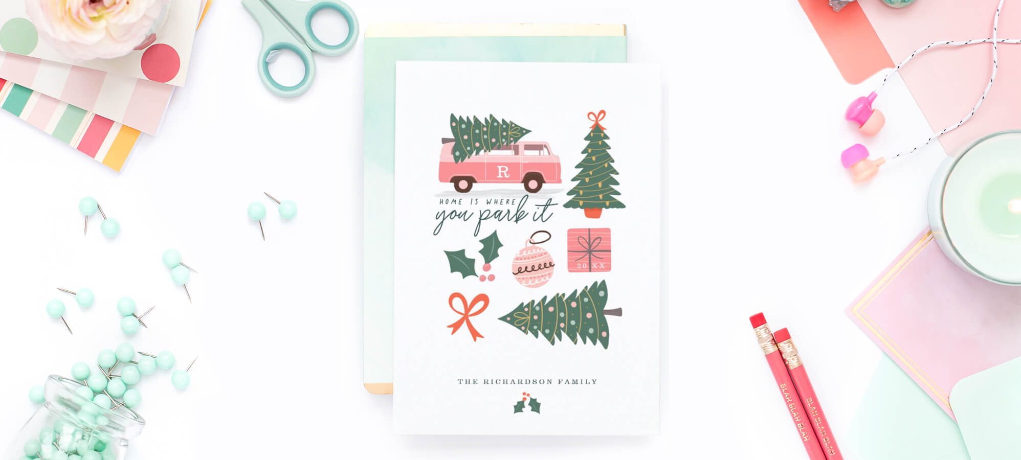 Moodthology Papery Christmas Cards