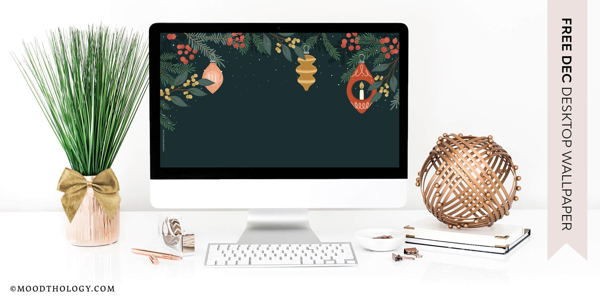 Free December 2020 Desktop Wallpaper Moodthology Papery