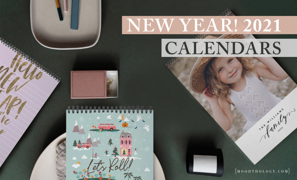 Best Wall Calendars for 2021 By Moodthology Papery