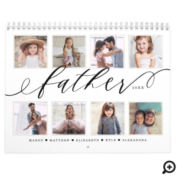 Gift for Father | Family Memories Photo Calendar