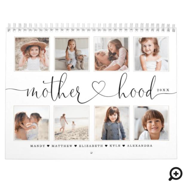 Gift for Mom | Motherhood Family Photo Memories Calendar