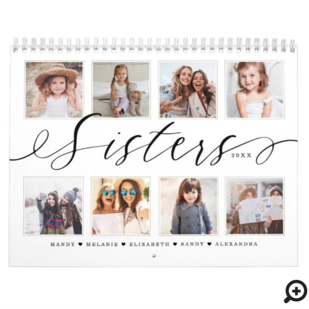 Gift for Sisters | Sisters Make the Best Friends Calendar