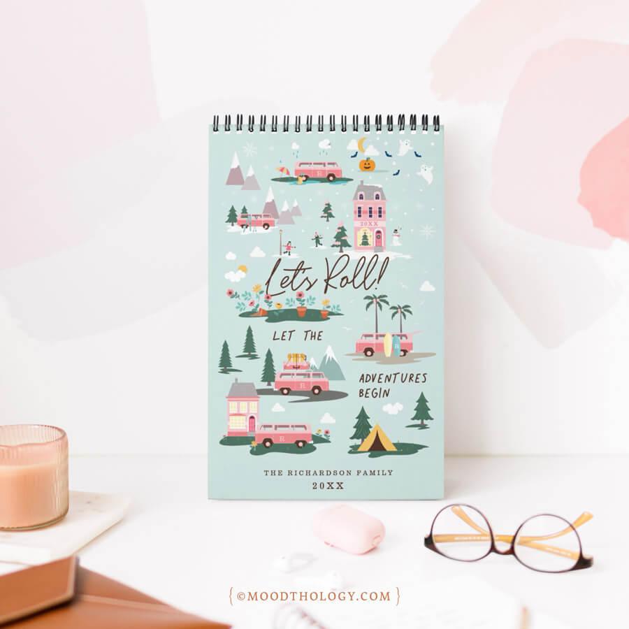 2021 New Year Calendars - Van Life Calendar