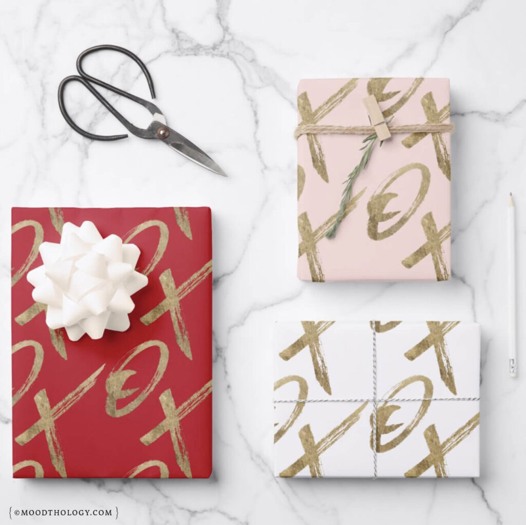 Valentine's Day Gift Ideas 2021 Wrapping Paper