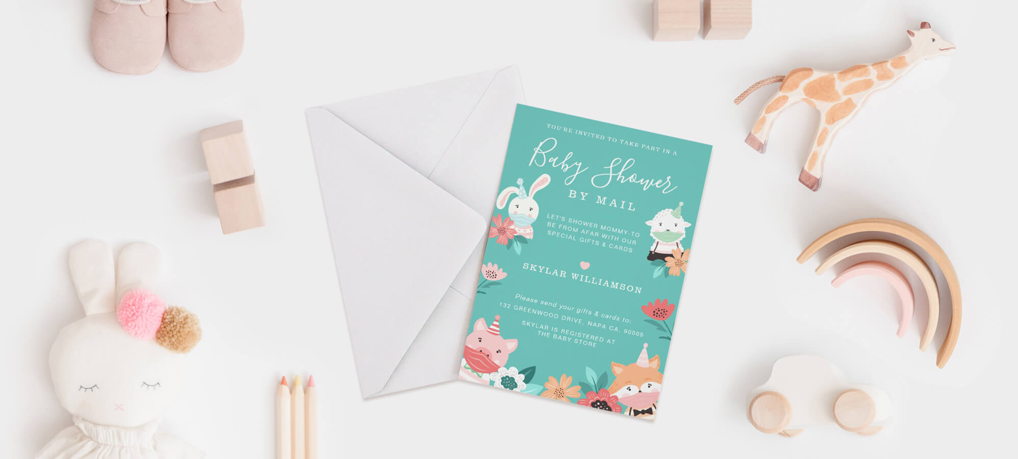 Baby Shower Invitations By Moodthology Papery