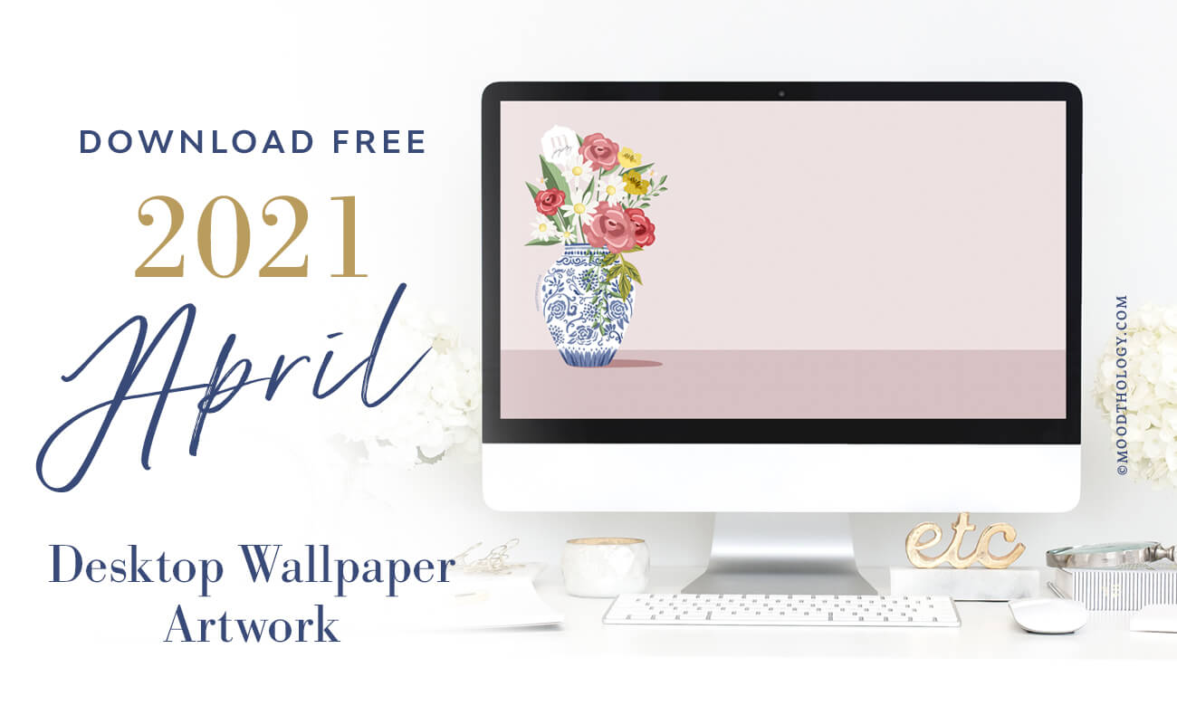 April 2021 Free Desktop Wallpaper
