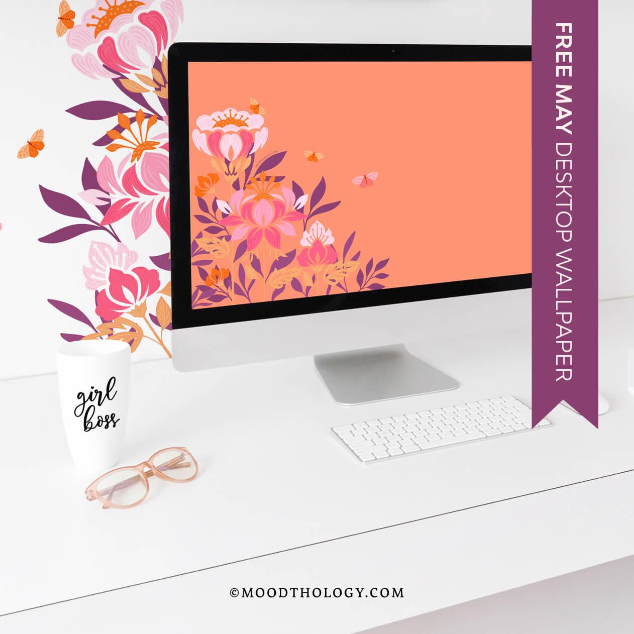May 2021 Free Desktop Wallpaper By Moodthology Papery
