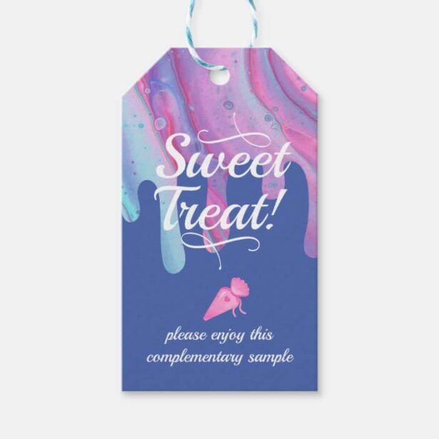 Sweet Treat - Bakery Cake Complementary Sample Gift Tags