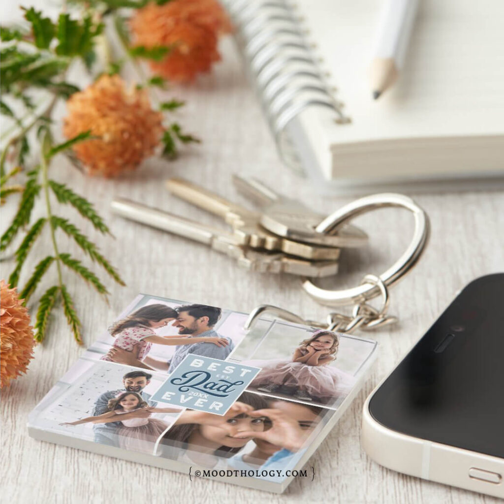 Personalized Father's Day Keychains