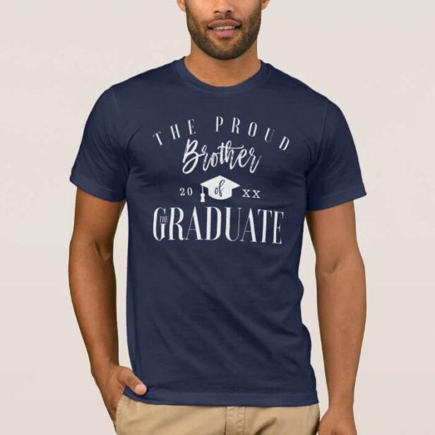 Grad Celebration | Proud Brother of the Graduate T-Shirt