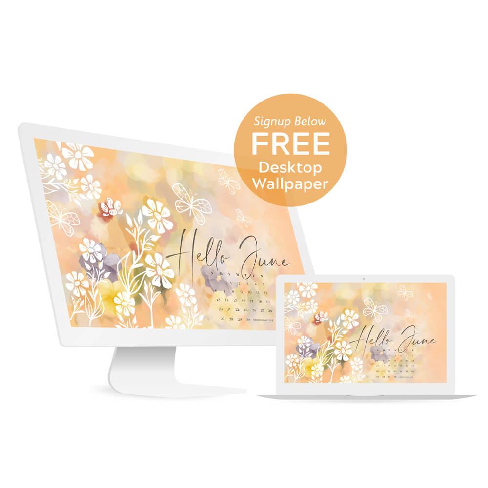June 2021 Free Desktop Wallpaper By Moodthology Papery