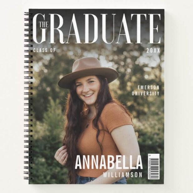 The Graduate Trendy Magazine Cover Graduation Notebook1