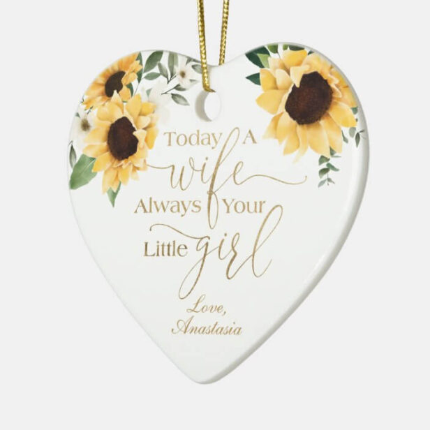 """Bring a lot more holiday cheer to your tree with a custom ceramic ornament. Add family photos, images and personal message to both sides of this ornament. A strand of gold thread makes it easy to hang this fantastic keepsake. Dimensions: 3""""l x 2.8""""w; Weight: 1.375 oz. Made of white porcelain Full-color, full-bleed printing Printing on both sides"""