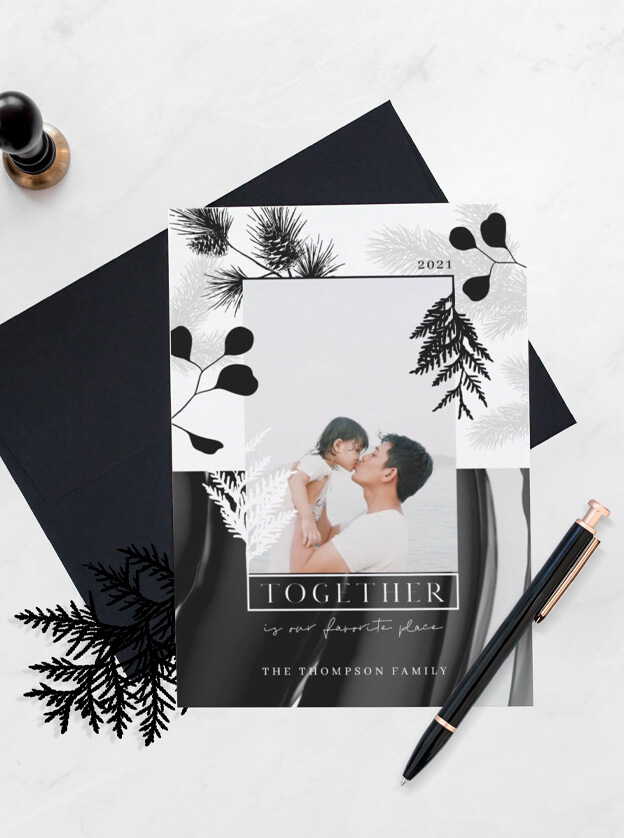 Minimal Monochrome Japandi Style Christmas By Moodthology Papery