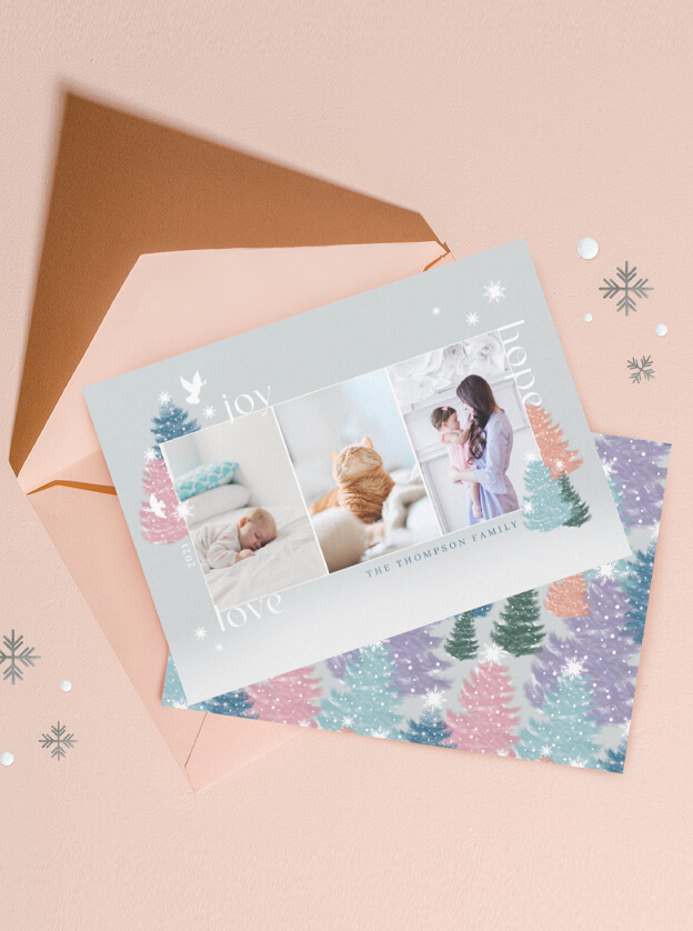 Pastel & Pine Chrismtas Collection By Moodthology Papery