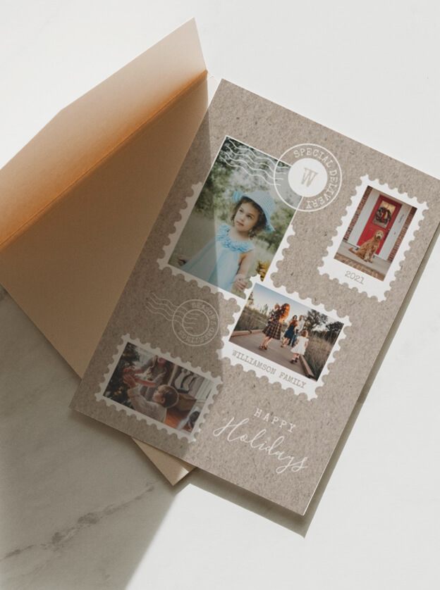 Special Delivery Chirstmas Parcel By Moodthology Papery