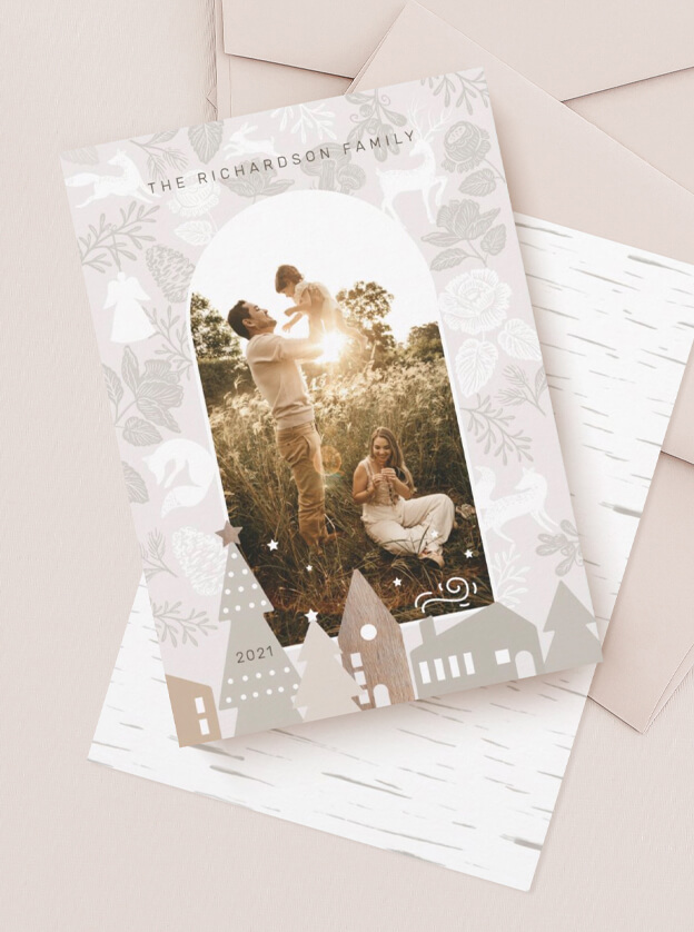 Woodland Village Naturally Simple Christmas By Moodthology Papery